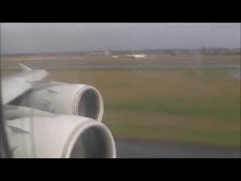 Date: 7th December 2013 Airline: Emirates Flight: EK147 Route: Dubai - Amsterdam Aircraft: A380-800 Reg: A6-EEB Takeoff: 30R Landing 18C This video and ALL o...