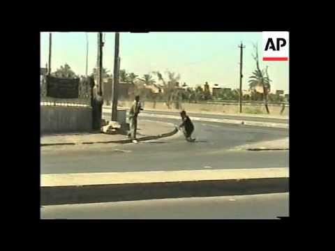 Latest scenes from Sadr City neighbourhood