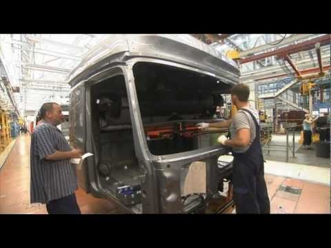 All new Mercedes-Benz ACTROS 2012 Production