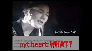 "When GD said ""she"" and why he did it - Untitled in SG Day 2 - A NYONGTORY VIDEO"
