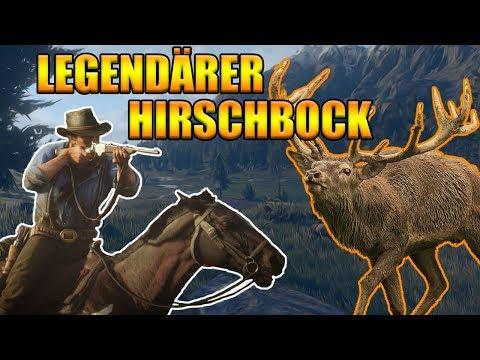 Legendärer Hirschbock Red Dead Redemption 2 - Legendäre Tiere jagen