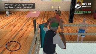 GTA: San Andreas Los Santos Gym Moves (HD)
