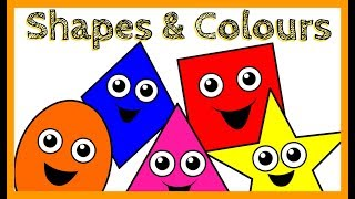 Surprise egg | Learn colours and shapes | In english
