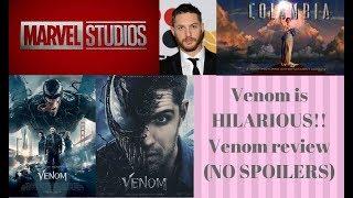 Venom is HILARIOUS!!/Venom review (NO SPOILERS)