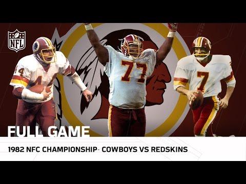 Cowboys vs. Redskins 1982 NFC Championship (FULL GAME) | #FreeGameFriday | NFL