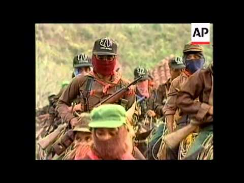 MEXICO: CHIAPAS: ZAPATISTA NATIONAL LIBERATION ARMY