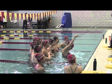 Harlem Shake - Swim Version (Columbus School for Girls) - 02/13/2013