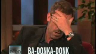 BRITISH ACCENT - AMERICAN ACCENT - (Hugh LAURIE)