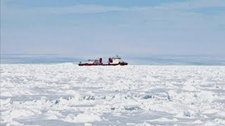 Ship trapped in Antarctic ice: 52 people saved