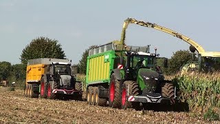 Mais 2018 : Compilation part 1 of Fendt Tractors season 2018 / 1050 / 939 / 936