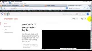 How to setup and configure Google webmaster tools for blog