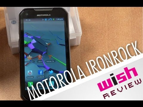Radio Android con señal 3G. Motorola Ironrock/ WISH Review