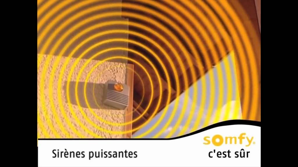 Installation alarme somfy protexiom youtube for Alarme maison castorama