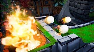 GOLFING WITH FIRE BALLS! (Golf It)