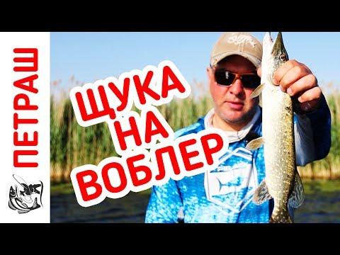 Рыбалка на ЩУКУ. Ловля НА ВОБЛЕРЫ жарким летом!