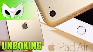 Unboxing iPad Air 2 GRANDES DIFERENCIAS al Air 1