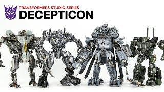 Transformers Movie Studio Series Decepticon Megatron Blackout Starscream Brawl Vehicle Robot Toys