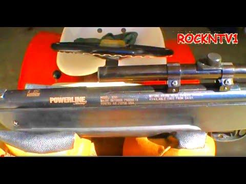 Pellet gun trigger mod daisy powerline 1000 hunting air rifle mod.