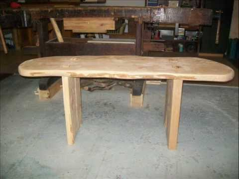 Woodworking: How to build a bench of solid alder wood