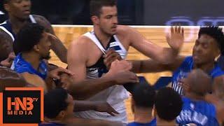 Nemanja Bjelica & Arron Afflalo Fight / Timberwolves vs Magic