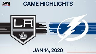 NHL Highlights | Kings vs Lightning – Jan. 14, 2020