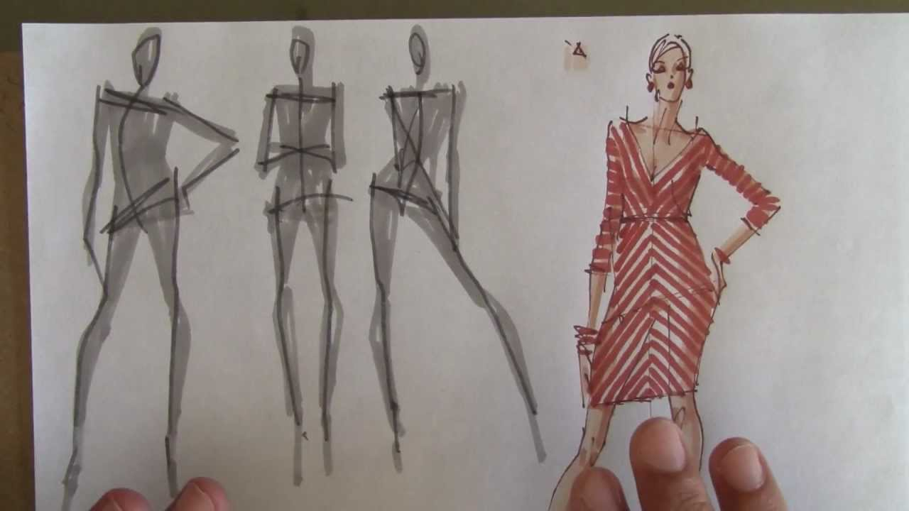 Fashion Clothes Drawing Tutorial