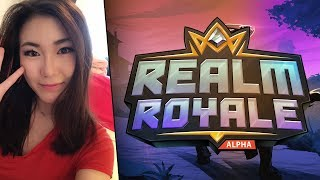 Hafu Carry! Realm Royale Squads