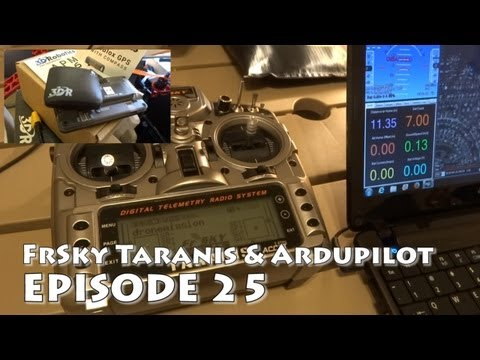 FrSky Taranis Review: APM Ardupilot Switches. Channel Setup. RTL or panic button!