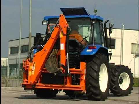 Brazo tractor