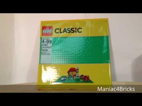 LEGO Set Reviews: 10700 (Bright) Green Baseplate from 2015!