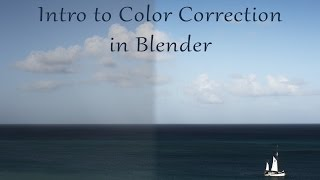 Intro to Color Correction in Blender
