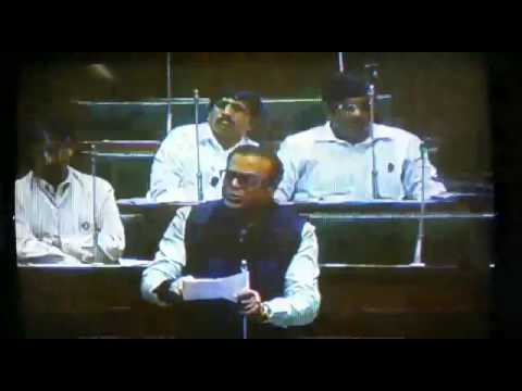 Abu Asim.Azmi Sb in Assembly on Muslim Reservation.