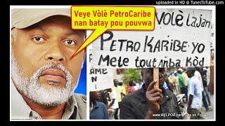 AUDIO: Veye volè lajan PetroCaribe k'ap chache Amnesty nan batay pou pouvwa - Eric Jean Baptiste