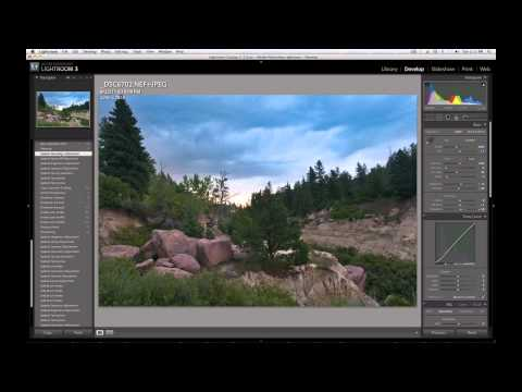 Adobe Lightroom - Landscape Super-Edit