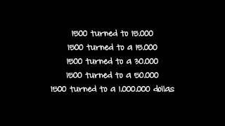 Rich Homie Quan - 1500 (Lyrics) Ft. Peewee Longway & Boosie Badazz
