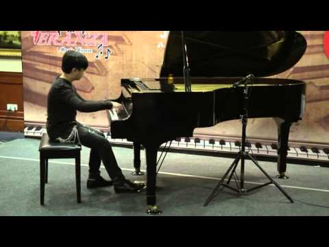 Benedict Kaai Mscs (11yo) 3rd Winner Free Category (10-12) plays Grand Valse Brillante op 34 no. 3