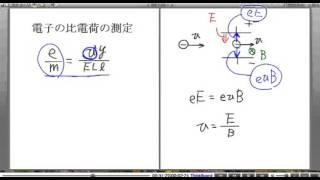 高校物理解説講義:「電子の発見」講義5