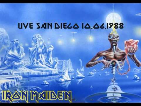 iron maiden live san diego 1988.06.10 youtube
