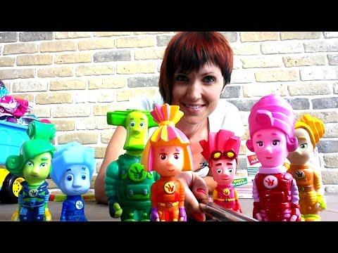 ФИКСИКИ мультик из игрушек. Селфи - стик. Фотография на память.