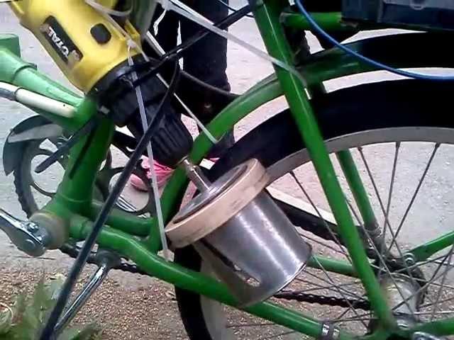 Как сделать велосипеда из подручных средств 160