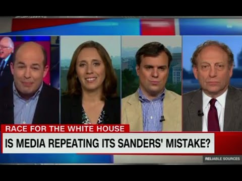 Clinton News Network Thinks It's Been Super Fair To Bernie Sanders