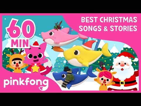 Christmas Sharks and more | Christmas Songs & Stories | +Compilation | Pinkfong Songs for Children