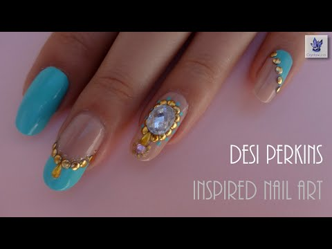 Desi Perkins Inspired Nail Art (legendas Em Português) video