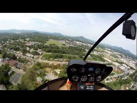 Helicoptering over Roanoke VA