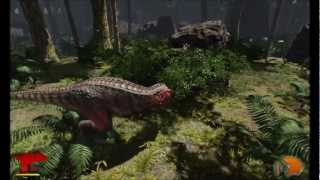 Primal Carnage - Forest Chasm T-Rex Gameplay