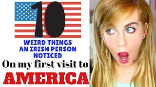Download Lagu 10 Weird Things an IRISH Person Noticed visiting AMERICA for the first time Gratis STAFABAND