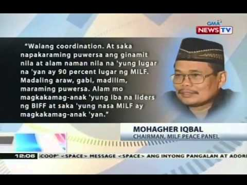 Pagpasa sa Bangsamoro Basic Law, posibleng maantala dahil sa nangyaring engkwentro sa Maguindanao