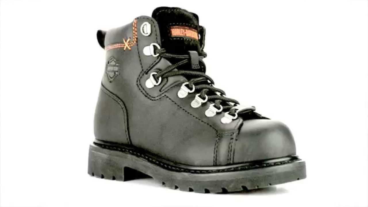 Women's Steel Toe Boots Harley Davidson 16