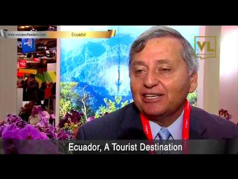 Ecuador Tourism Minister Vice Minister of Tourism