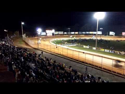 Lincoln Speedway 410 Sprint Car 4K Footage Test 10-11-14
